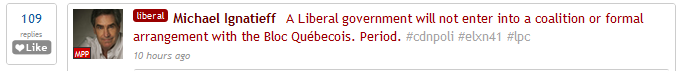 #elxn41 reaction